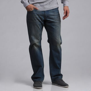 BROKEN ENGLISH Men's Denim Jeans
