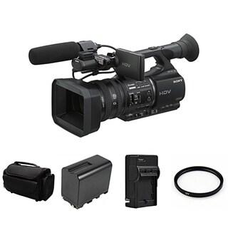 Sony HVR-Z5U HDV High Definition Handheld Camcorder Bundle