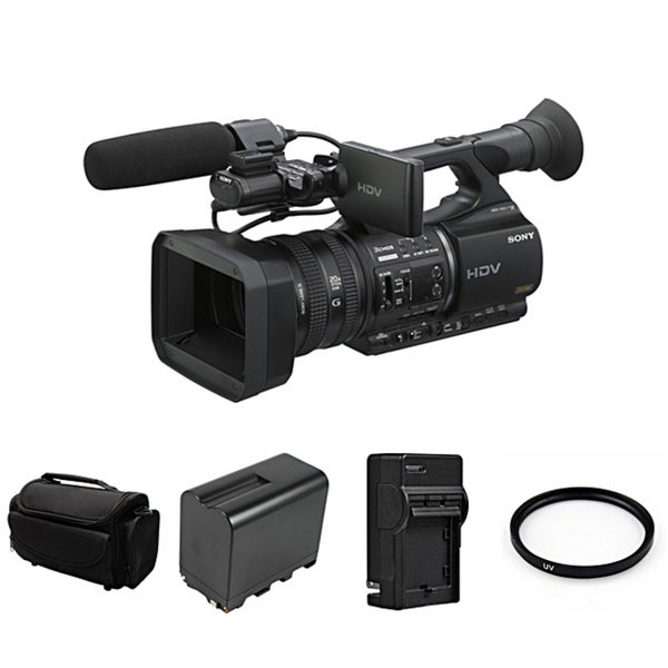 Sony HVR-Z5U HDV High Definition Handheld Camcorder Bundle
