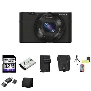 Sony Cyber-shot DSC-RX100 20.2MP Digital Camera with 32GB Bundle 2
