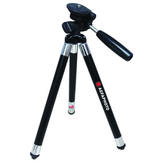 AGFA APTP42BK 42-Inch, 8 Section Retractable Leg Travel Tripod