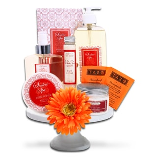 Alder Creek Gift Baskets 'Tea and Cake Plate' Gift