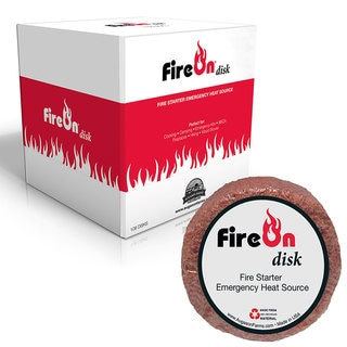 FireOn Disk Fire Starter Emergency Heat Source Kit