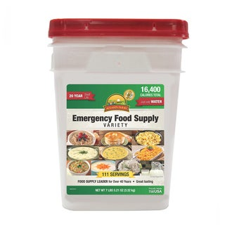 Emergency Food Supply Variety 4-gallon Pail
