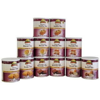 Augason Farms Bakery Kit Gluten-Free Food Storage (Pack of 12)