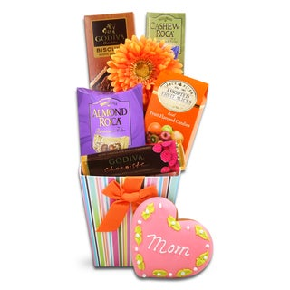 Alder Creek Gift Baskets 'Godiva Gift Tote for Mom' Box