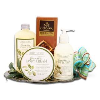 Alder Creek Gift Baskets &#39;Spa &amp; Godiva&#39; Gift Tray