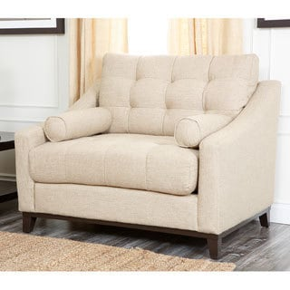 Abbyson Living Alexandria Fabric Arm Chair