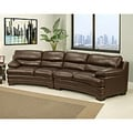 Abbyson Living Jenson Premium Top Grain Leather Sectional Sofa