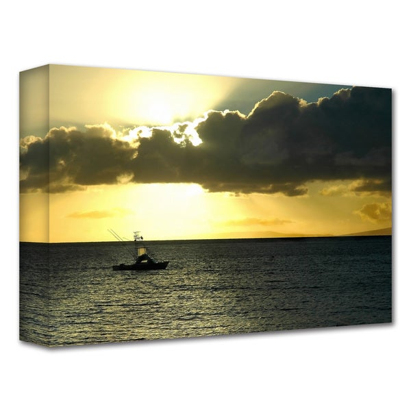 Dan Holm 'Heading Home' Gallery-Wrapped Canvas