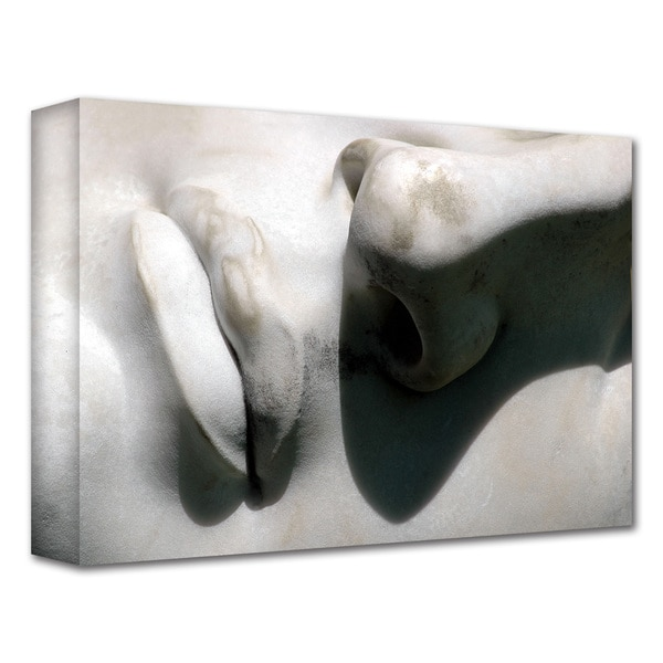 Dan Holm 'Nose and Mouth' Gallery-Wrapped Canvas