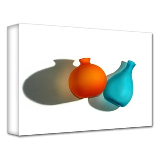 Dan Holm 'Two Vases' Gallery-Wrapped Canvas