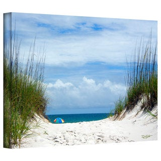 Antonio Raggio 'Ocean Path' Gallery-Wrapped Canvas