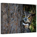 David Liam Kyle 'Peering' Gallery-Wrapped Canvas