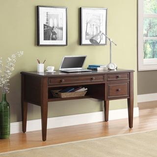 Inspired by Bassett Houghton Writing Desk with pullout keyboard drawer and multi-use storage drawer