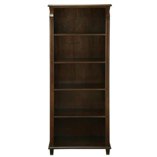 Office Star Products Cider Adjustable 4-shelf Bookcase