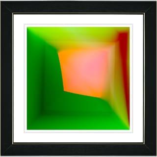 Studio Works Modern 'Mind Box - Orange' Framed Print