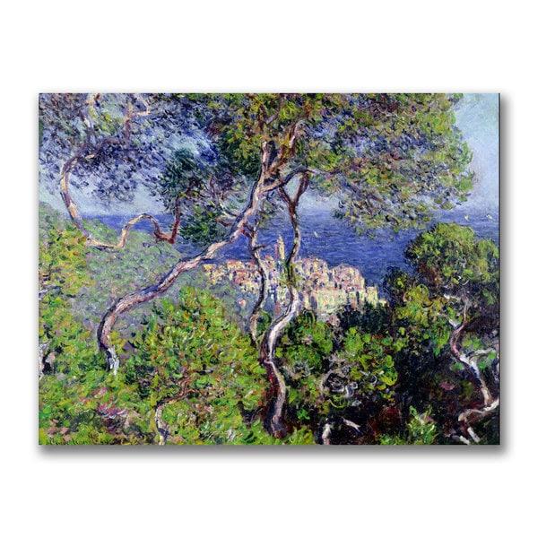 Claude Monet 'Bordighera 1884' Canvas Art 10956195