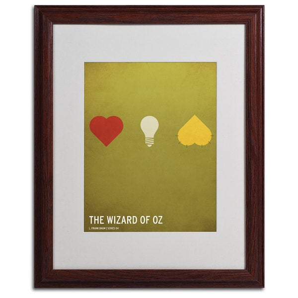 Christian Jackson 'Wizard of Oz' Framed Matted Wall Art