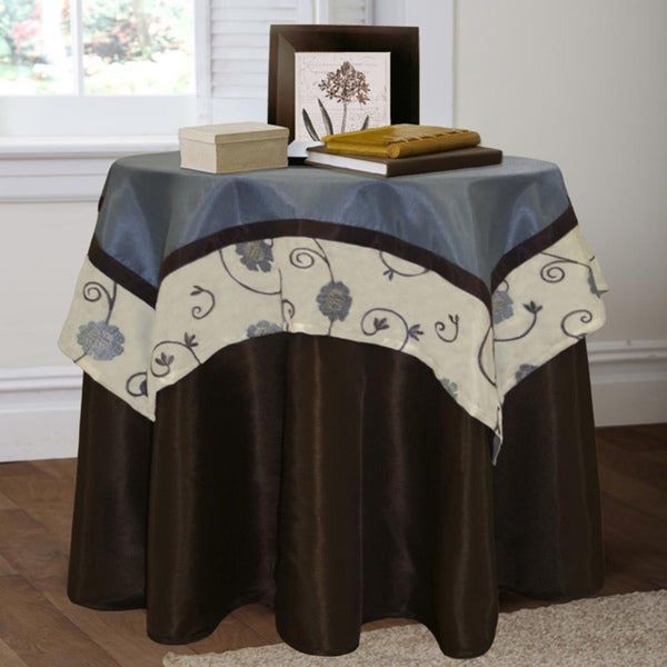 Lush Decor Royal Garden 2-piece Table Cloth Set