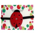 Mini e Boutique Ladybug Leather Headband