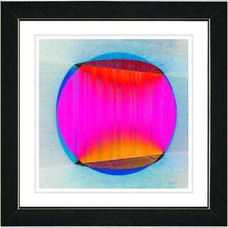 Studio Works Modern 'Sol - Pink' Framed Print
