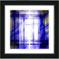 Studio Works Modern 'Malawali Strait - Blue' Framed Print