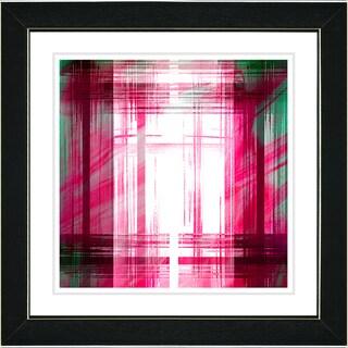Studio Works Modern 'Malawali Strait - Red' Framed Print