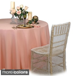 A-1 Tablecloth Company Round 90-inch Tablecloths (Pack of 5)
