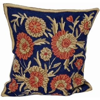 Kashmiri Floral Cushion Cover (India)