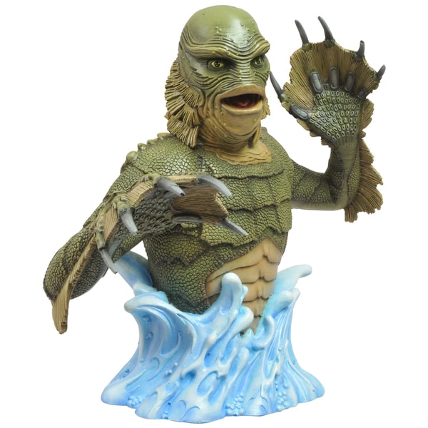 Diamond Select Universal Monsters Creature From The Black Lagoon Bust Bank