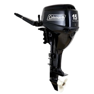 Coleman 15 HP Electric Start Outboard Motor