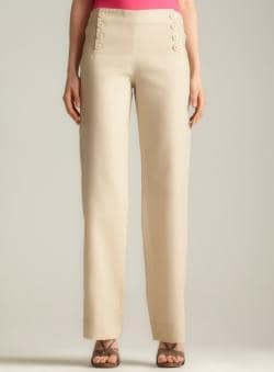 Max Studio Linen Trousers
