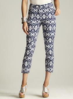 Walter Printed Ankle Zipper Pant