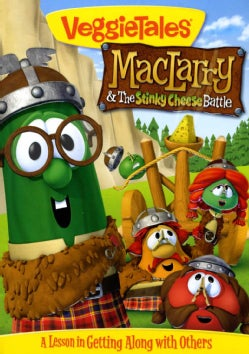 Veggie Tales: MacLarry and the Stinky Cheese Battle (DVD)