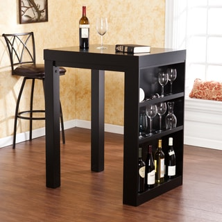 Upton Home Benton Black Bistro Table