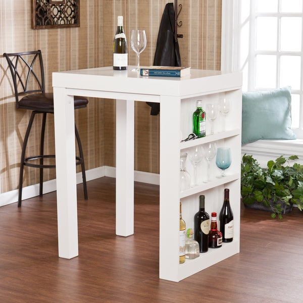 Benton White Bistro Table