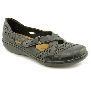 Clarks Women's 'Ashland Rivers' Leather Casual Shoes
