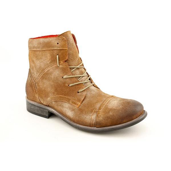 Steve Madden Men's 'Brunno' Leather Boots (Size 10.5)