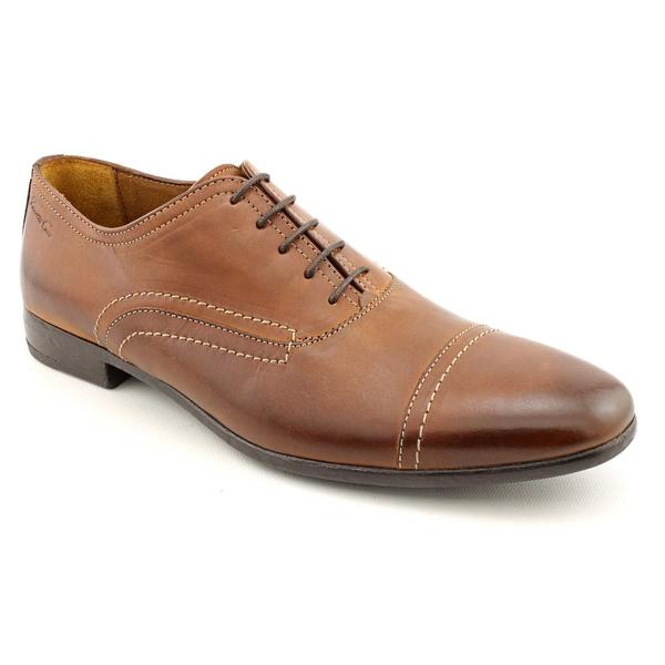 Kenneth Cole NY Men's 'Web Design' Leather Dress Shoes (Size 10)