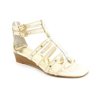 INC International Concepts Women's 'Dada' Leather Sandals (Size 5.5)