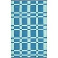 Thom Filicia Hand-woven Indoor/ Outdoor Sea Plastic Rug (3' x 5')