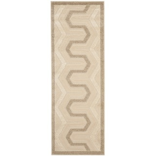 Safavieh York Cream/Beige Polypropylene Rug (2'4