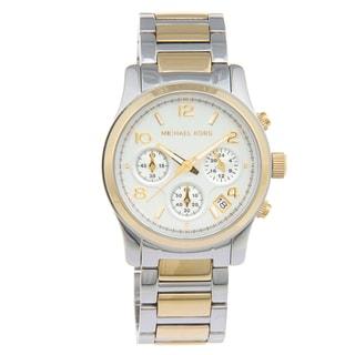 Michael Kors Women's MK5741 'Runway' Two-tone Watch