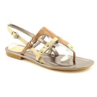 Tahari Women's 'Decker' Leather Sandals