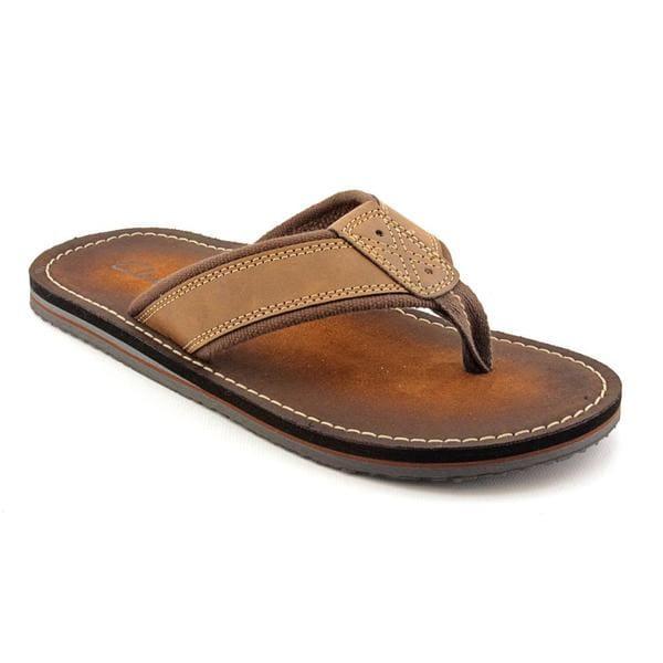 Clarks Men's 'Logan Yucatan' Man-Made Sandals