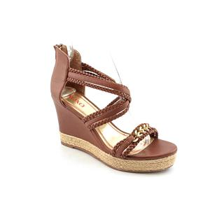 XOXO Women's 'Flora' Man-Made Open-Toe Sandals