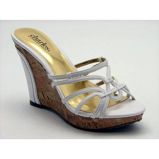 Charles By Charles David Women's 'Saga' Leather Sandals (Size 10)