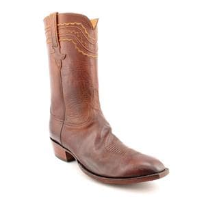 Lucchese Men's 'L159813' Leather Boots - Wide