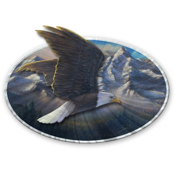 Joe Sambataro 'Eagle' Metal Wall Sculpture